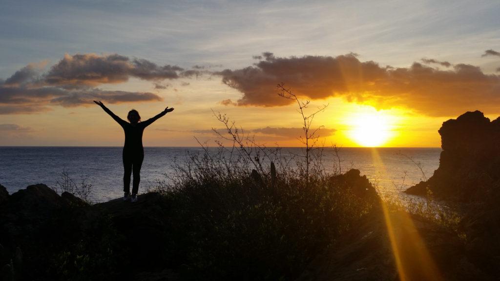 Althea, Sunset and Madeira
